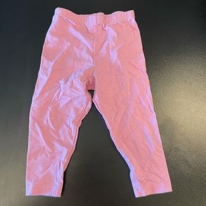 Pink with sparkles 2T leggings.